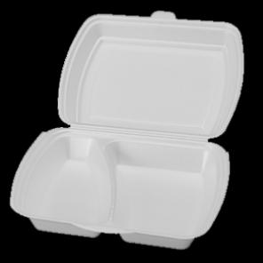 MENU BOX 2dílný 125ks