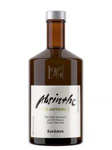 Žufánek absinthe 70% 0,5L