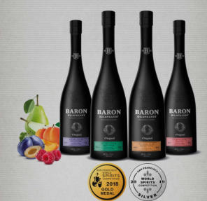 Hildprand meruňka Baron40% 0,7L